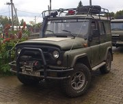 машина для охоты и рыбалки - УАЗ 315195 Хантер.