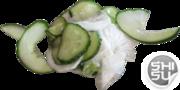 Салат из огурца и дайкона - бесплатная доставка по Ульяновску.