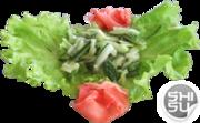 Салат из огурцов с пряным соусом  - бесплатная доставка по Ульяновску.