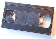 Оцифровка видеокассет VHS,  VHS-C. Запись VHS,  VHS-C,  miniDV на DVD в Ульяновске