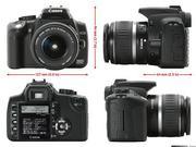 Продам Canon 350 D + Kit 18-55 _ флеш карта на 32 Гб. Срочно!! В отлич