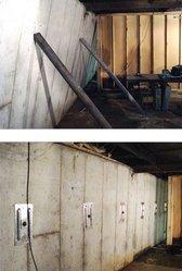 Усиление карбоном Решите наклона проблемы стена