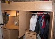 Детский мебельный комплекс 3 в 1: кровать + шкаф + стол