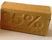 Производим и реализуем мыло натуральное хозяйственное 65%.