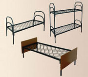 Железные трехъярусные кровати для общежитий,  кровати от производителя