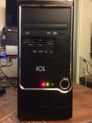 Системник ICL 2ядра,  4 гига,  видео1 гиг,  HDD250
