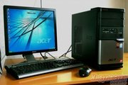 Компьютер 2-ядерный AMD X2 Dual 2.7 Гц на ядро с 17